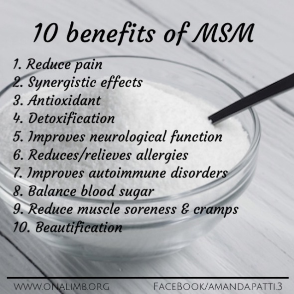 MSM, benefits, MSM benefits, 10 benefits to MSM, 10 benefits of MSM